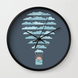Weather Balloon Wall Clock