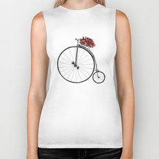 Christmas Bicycle Biker Tank