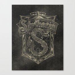 Slytherin House Canvas Print