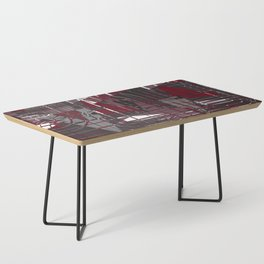 Land of Red Coffee Table