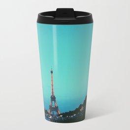 la dame de fer en couleur Travel Mug