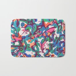 Just some colors abstract Bath Mat