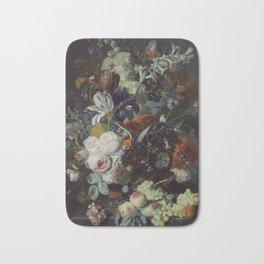 Jan van Huysum Still Life with Flowers and Fruit Bath Mat