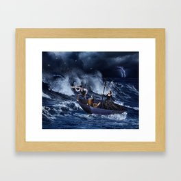 Gone With The Storm Framed Art Print