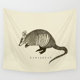 Armadillo power Wall Tapestry