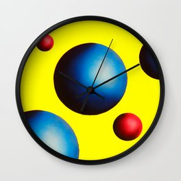 One Perfect Sunrise in Yellow Wall Clock
