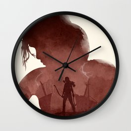 Tomb Raider (II) Wall Clock