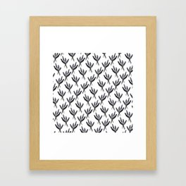 Lavender Pattern - Katrina Niswander Framed Art Print