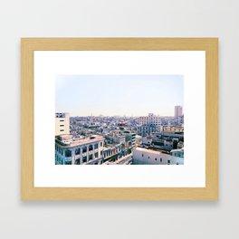 Havana Landscape Framed Art Print
