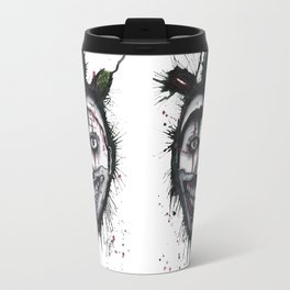 The Horror of Twisty The Clown Travel Mug