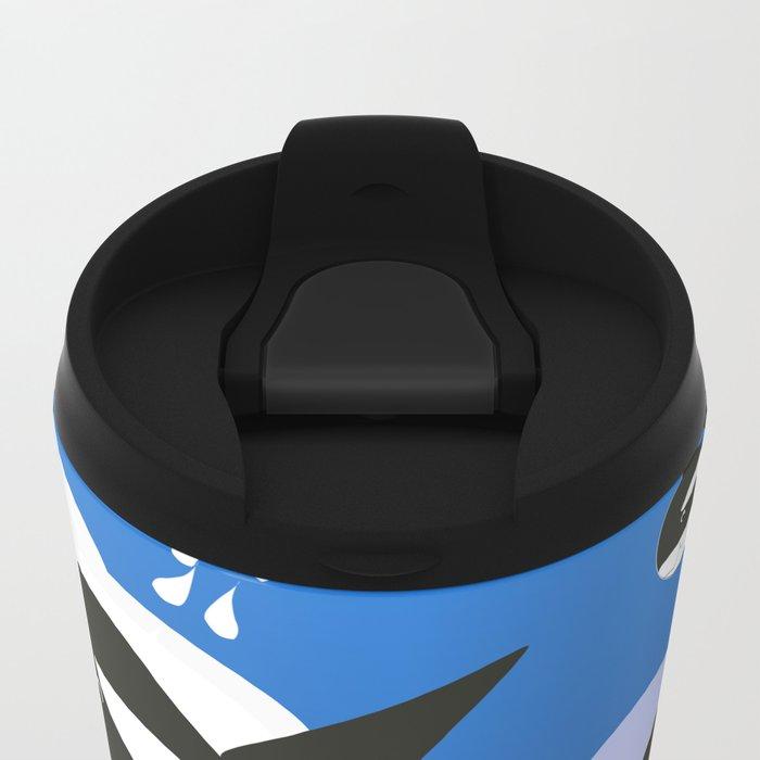 Orca Design Metal Travel Mug