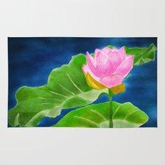 Pink Lotus Beauty Rug