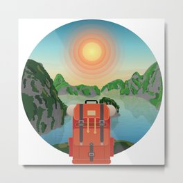 Wild Driven - Vietnam Metal Print