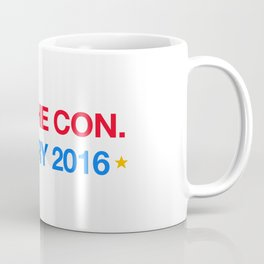 yes,she con. hillary 2016 Coffee Mug