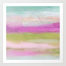 Happy and Bright Abstract Art Print