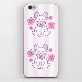 Sakura Cat 02 iPhone Skin