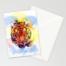 Amur Tiger Pop Art Stationery Cards