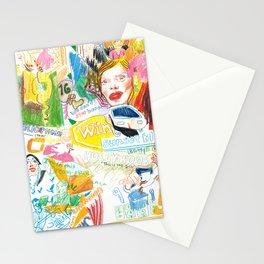 Mulholland Dr. montage illustration Stationery Cards
