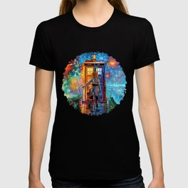 BeautifuL Blondie Mrs River Lost in the strange city T-shirt