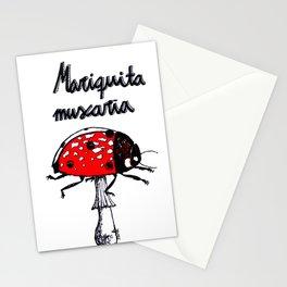 Mariquita muscaria Stationery Cards