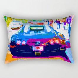 Bugatti Veyron On Rodeo  Rectangular Pillow