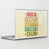 reggae Laptop & iPad Skins featuring Shades of Reggae by Panda