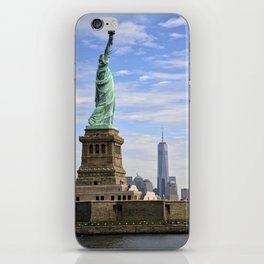Lady of Freedom iPhone Skin