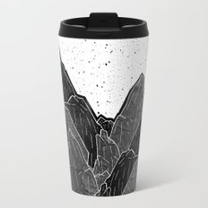 Dark Moon Mounts Metal Travel Mug