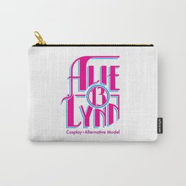 Alie_Lynn Logo(Magenta/Cyan) Carry-All Pouch