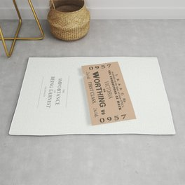 The Importance of Being Earnest - Alternative Movie Poster Rug