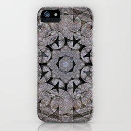 Gothic Romanesque Stone Architecture Mandala Pattern iPhone Case
