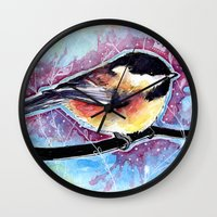 the little prince Wall Clocks featuring Little Prince by Natalie Schnitter