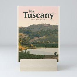 Visit Tuscany  Mini Art Print