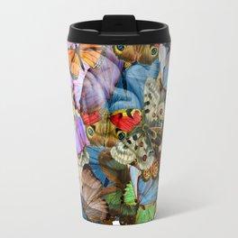 butterflies in my brain Travel Mug