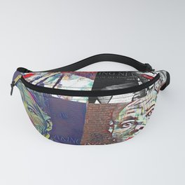 Four sides of Minty Fanny Pack