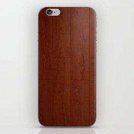 Wood floor iPhone Skin