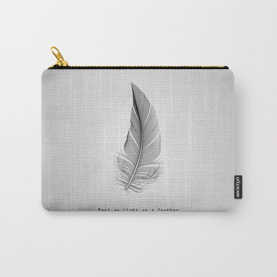 Feel as light as a feather Carry-All Pouch
