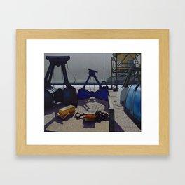 St-Malo Framed Art Print