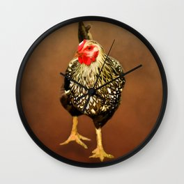 Ms Hen Wall Clock