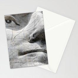 Rushmore Face of Washington Stationery Cards
