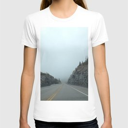 Mountain Foggy Road T-shirt