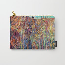 Franklin Carmichael Silvery Tangle Carry-All Pouch