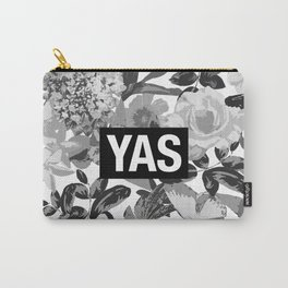 YAS B&W Carry-All Pouch