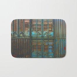 Container rouille 5 Bath Mat