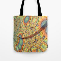 scales Tote Bags featuring Scales by Lyle Hatch