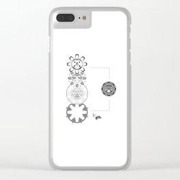 """Sun"" Clear iPhone Case"