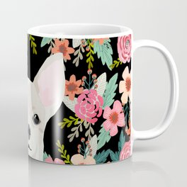 Chihuahua face floral dog breed cute pet gifts pure breed dog lovers chihuahuas Coffee Mug