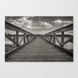 Walk on Water Canvas Print