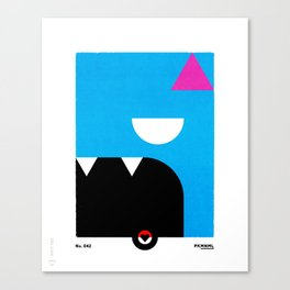 PKMNML #041 GOL BAT Canvas Print