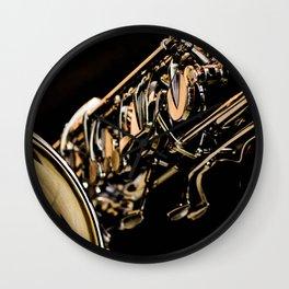 Musical Gold Wall Clock